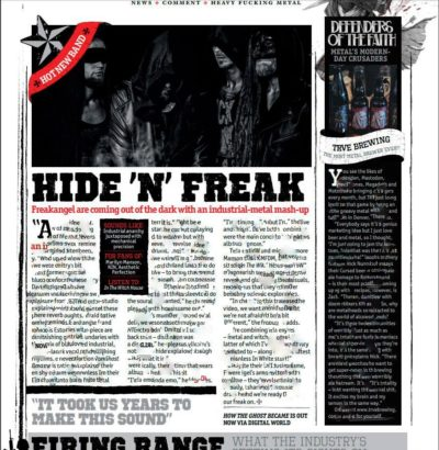 Freakangel in Metal Hammer